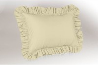 Hothaat Plain Pillows Cover Pack Of 2, 27 Cm*3 Cm, Beige