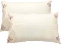Milano Home Embroidered Pillows Cover Pack Of 2, 48 Cm*76 Cm, Multicolor - CPCEERB9TRHQBRE6