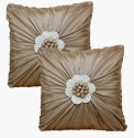 Dekor World Floral Bonanza Cushions Cover - Pack Of 2
