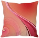 StyBuzz Pink Abstract Cushion Cover Cushions Cover - Pack Of 1