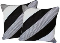 Zikrak Exim Abstract Cushions Cover (Pack Of 2, 30 Cm*30 Cm, Multicolor)