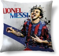 ShopMantra Lionel Messi Barcelona Printed Cushions Cover (Cushion Pillow Cover, 40.64 Cm*40.64 Cm)