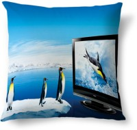 Amy Penguin Animal Cute Abstract Cushions Cover (40.64 Cm*40.64 Cm)