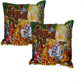 Kalakriti Creations Cartoon Cushions Cover