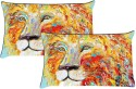 MeSleep Shades Of Loin Pillows Cover - Pack Of 2