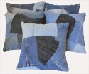 Dekor World Play With Denim Cushions Cover - Pack Of 5 - CPCDQAY68YQBXT32