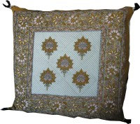 Jaipur Art And Craft Rajasthani Traditional Prints Printed Cushions Cover (1 Pc Cushion Pillow Cover, 41*41) - CPCE2GSYBTEFATTH
