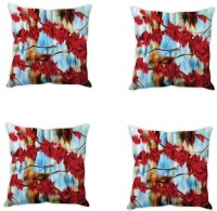 StyBuzz Printed Cushions Cover (Pack Of 4, 40.64 Cm*40.64 Cm, Multicolor)