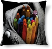 Amy Crayons Colors Cute Abstract Cushions Cover (40.64 Cm*40.64 Cm)