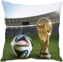 StyBuzz World Cup 2014 Football Cushions Cover - Pack Of 1