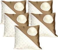 Mysha Floral Fantacy Floral Cushions Cover (Cushion Pillow Cover, 41 Cm*41 Cm)