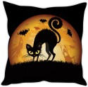StyBuzz Black Cat Cushion Cushions Cover - CPCDWR748ZZ8AVEN