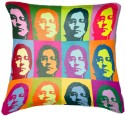 Belkado Digital Print John Lenin Cushions Cover - Pack Of 1