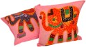 Jaipur Raga Rajasthani Traditional Design Cushions Cover - Pack Of 2 - CPCDPH3G3BZEPWNC