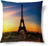 Amy France Paris Eiffel Tower Beauty Abstract Cushions Cover (40.64 Cm*40.64 Cm, Multicolor)