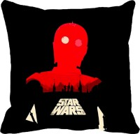StyleNcomfort Stars Wars Print Digitally Printed Cushions Cover (Pack Of 1)