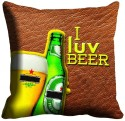 MeSleep Beer Cushions Cover - Pack Of 1