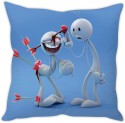 StyBuzz Love Stuck Funny Cushion Cushions Cover - CPCDWR74UMPMJYBN