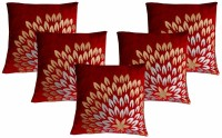 Dekor World Royal Printed Collection Printed Cushions Cover (Pack Of 5, 40*40)