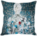 STYBUZZ Sticky Notes Man Cushion Cushions Cover - CPCDWR745ZHDJYH4