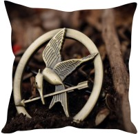 StyBuzz The Hunger Games Mockingjay (12x12) Cushions Cover (Pack Of 1)