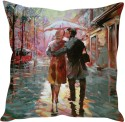 StyBuzz Kiss In The Rain Cushions Cover - Pack Of 1