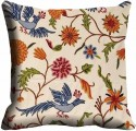 MeSleep Multi Flower Cushions Cover - Pack Of 1
