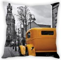 StyBuzz The Vintage Car Cushion Cover Cushions Cover - Pack Of 1