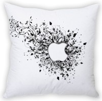 StyBuzz Apple Abstract On White (12x12) Cushions Cover (Pack Of 1)