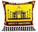 Happily Unmarried India Cushion Cover - Pack Of 1 - CPCDV9YNYVZHPZHJ