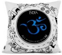 Happily Unmarried India Cushion Cover - Pack Of 1 - CPCDV9YNWC9ZGZKD