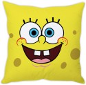 StyBuzz Spongebob Face (12x12) Cushions Cover - Pack Of 1