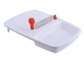 Nestwell Plastic, Stainless Steel Cutting Board