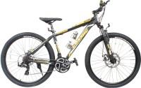 COSMIC TRIUM 27.5 INCH MTB BICYCLE 21 SPEED BLACK/GOLD-PREMIUM EDITION TRIUM26BKGLD Hybrid Cycle (Black, Gold)