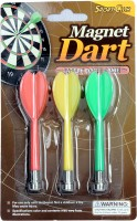 SPOFIT Sports Club Soft Tip Dart (Pack Of 3)