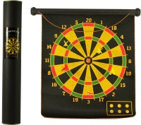 Planet Toys Magnetic Dart Board Large Size Soft Tip Dart (Pack Of 1)