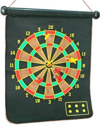 Bgroovy Multicolor Foldable Magnetic Dart Board Steel Tip Dart (Pack Of 1)