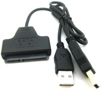 Storite USB 2.0 To Sata 22pin Data Power Adapter For 2.5