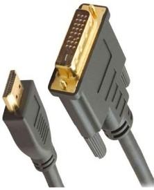Smartpro DVI Male To HDMI Male Data_cable (Black)