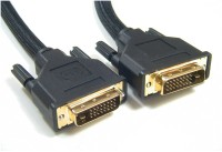Speed DVI Male To DVI Male 10 Mtr DVI Cable (Black)