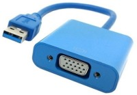 Microware USB 3.0 To VGA Data_cable (Blue)