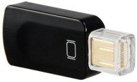 Microware Mini Display Port To HDMI Female Adapter HDMI Cable (Black)