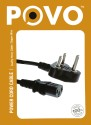 POVO P305117 Power Sharing Cable (Black)