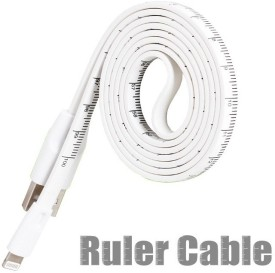 Callmate Ruler Cable iPhone 5/5s/6 Sync & Charge Cable