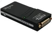 Tapawire 2.0 Mini To DVI, VGA, HDMI USB Cable (Black)