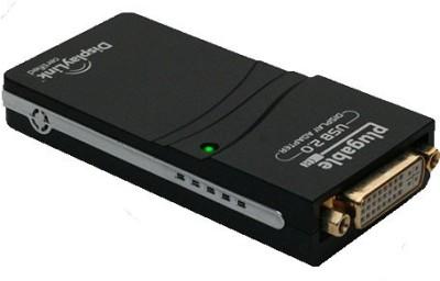 Tapawire 2.0 Mini To DVI, VGA, HDMI USB Cable (Black)