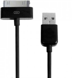 FliFit 30 Pin To Usb Data Cable For Iphone USB Cable (Black)