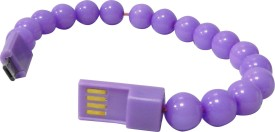 Amaze Mobile Beads Bracelet Charging and Data Sync for Lenovo A328 USB Cable
