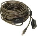 Smartpro USB 2.0 Active Extension Data_cable - Grey - ACCE2GVY57HF6VRZ