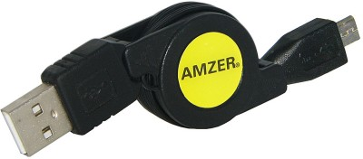 Buy Amzer 82268 Micro USB Retractable Data Cable: Data Cable